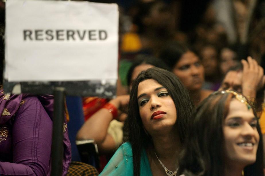 La victoire de Madhu Bai Kinnar intervient neuf... (PHOTO PUNIT PARANJPE, ARCHIVES AFP)