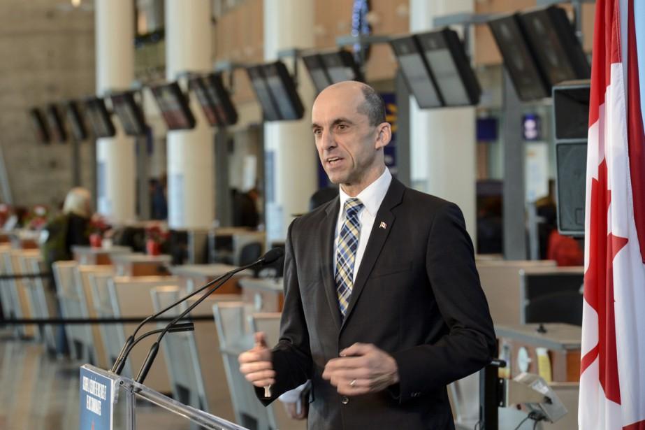 Le ministre fédéral de la Sécurité publique, Steven... (Photo Paul Chiasson, La Presse Canadienne)