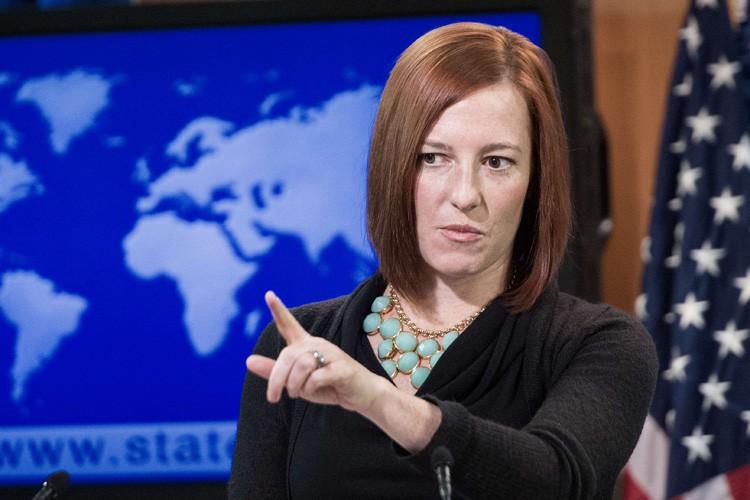 La porte-parole du département d'État, Jen Psaki.... (Archives AFP)