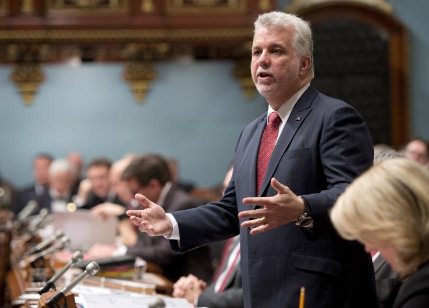 Le premier ministre pourrait tuer dans l'oeuf la... (Photo Jacques Boissinot, archives La Presse Canadienne)