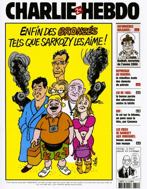 Caricature de Chabu, janvier 2006 ()