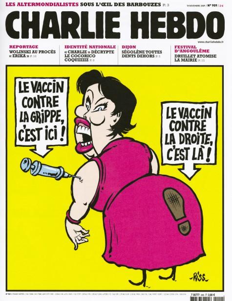 Caricature de Riss, novembre 2009 ()
