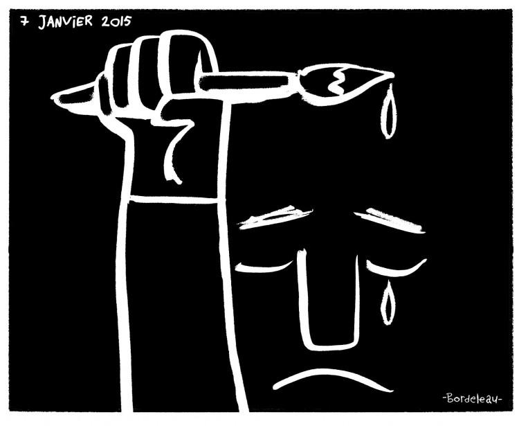 Un dessin de Paul Bordeleau de Québec (Paul Bordeleau)