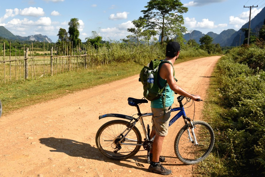 Une balade à vélo pour apprécier la beauté des paysages de la région. (PHOTO ÉLYSE LÉVESQUE, COLLABORATION SPÉCIALE)
