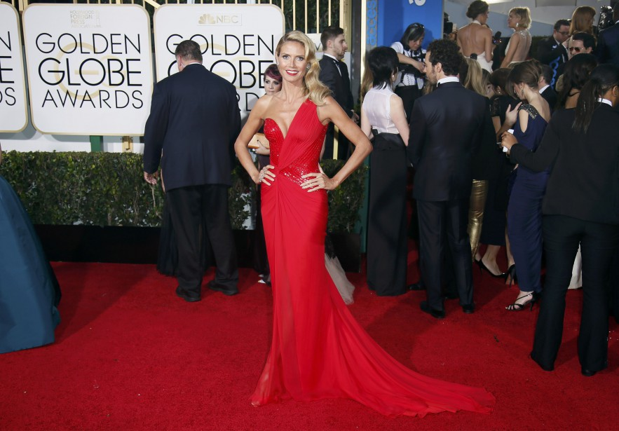 Heidi Klum (Photo DANNY MOLOSHOK, Reuters)