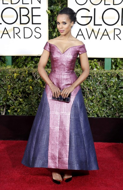 Kerry Washington en Mary Katrantzou ()