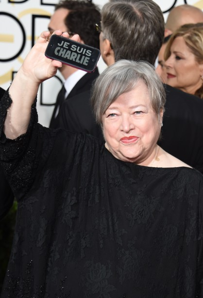Kathy Bates (Photo MARK RALSTON, AFP)