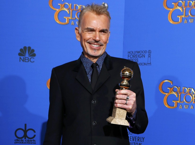 <strong>Meilleur acteur dans un téléfilm ou mini-série: </strong>Billy Bob Thornton<em>,<em> Fargo</em></em> (Photo MIKE BLAKE, Reuters)