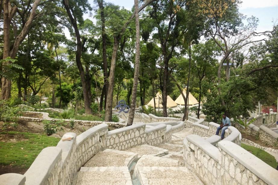 Le parc Martissant a ouvert en janvier 2012.... (PHOTO FOURNIE PAR HAITI CULTURAL EXCHANGE)
