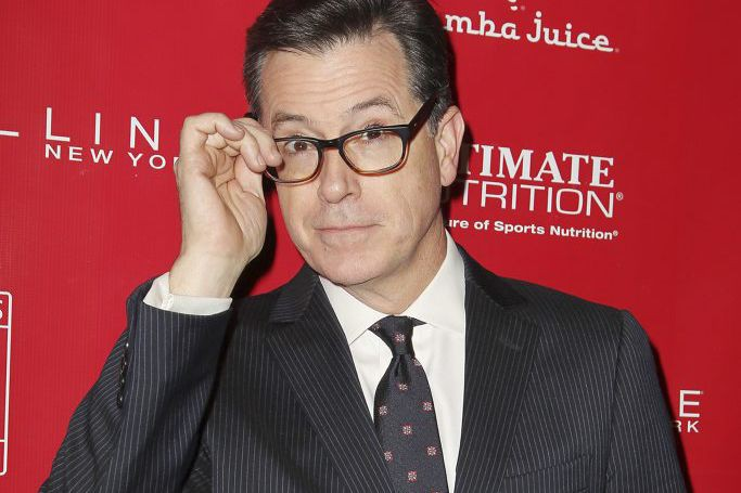 Stephen Colbert... (PHOTO ARCHIVES AP)