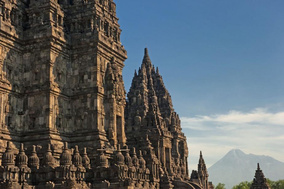 Le sanctuaire de Prambanan, à Yogyakarta, est constitué de plus de 500 temples de différentes tailles. (Photo Digital/Thinkstock)
