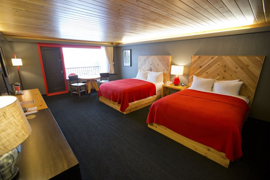 Un nouvel h tel design lake placid for Partage chambre hotel