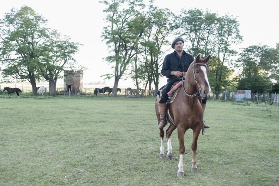Luis, gaucho de métier et fier de nature. (Photo Federico Cabrera, collaboration spéciale)