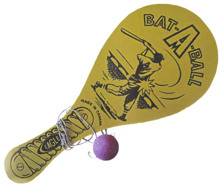 Le bolo évoque le retour duprintemps dans les cours de récréation. (Photo tirée du livre Du bolo au G.I. Joe. Jouets au Québec 1939-1969)