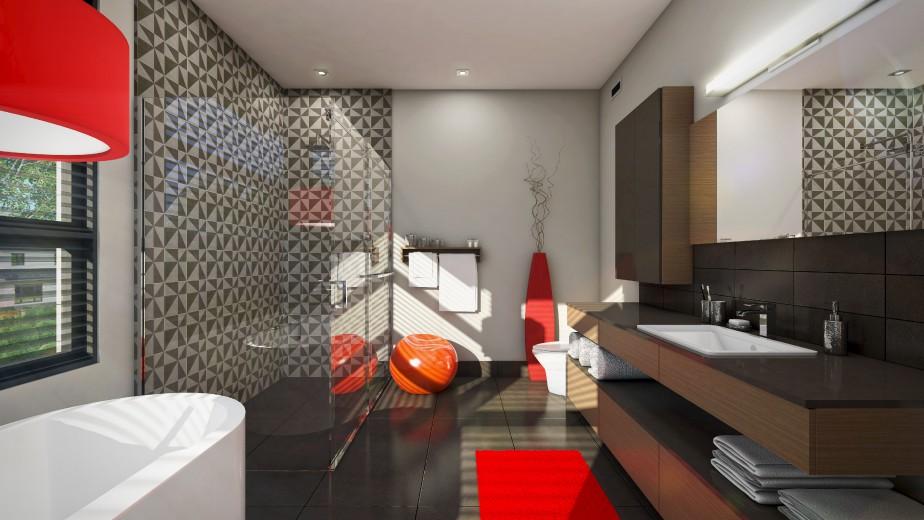 Maison tanguay 2015 r sidence de r ve g om trie for Nouvelle tendance salle de bain 2015