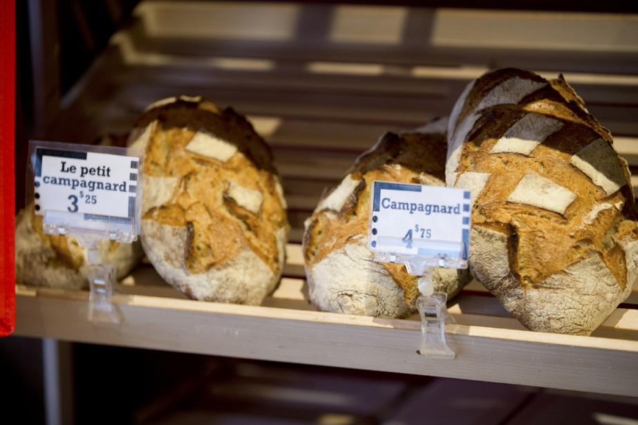 À chacun son pain est l'arrêt tout désigné pour se ravitailler avant ou après le sport. (Photo François Roy, La Presse)