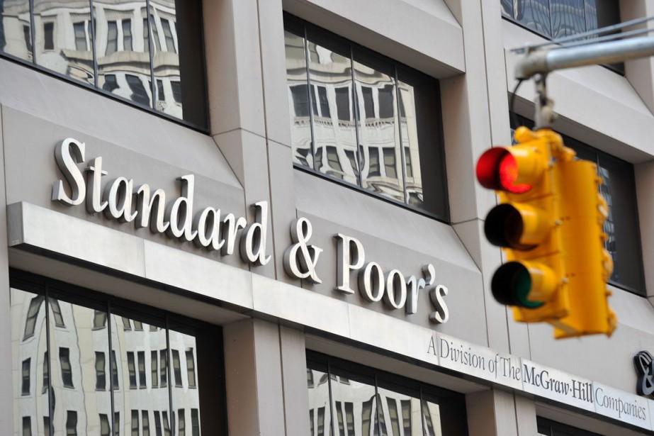 L'agence de notation financière américaine Standard and... (PHOTO ARCHIVES AFP)