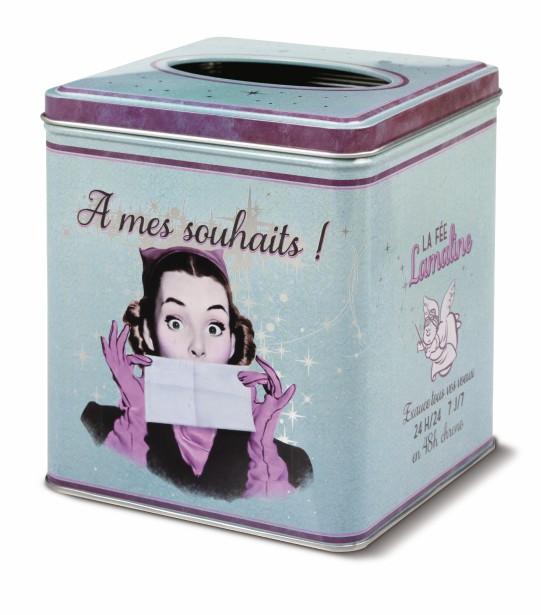 Boîte à mouchoirs À mes souhaits!, (Fournie par Maestria International)