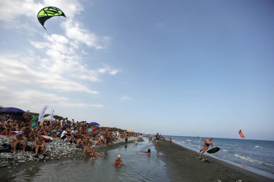 La République de Chypre a accueilli près de... (PHOTO PATRICK BAZ, ARCHIVES AFP)