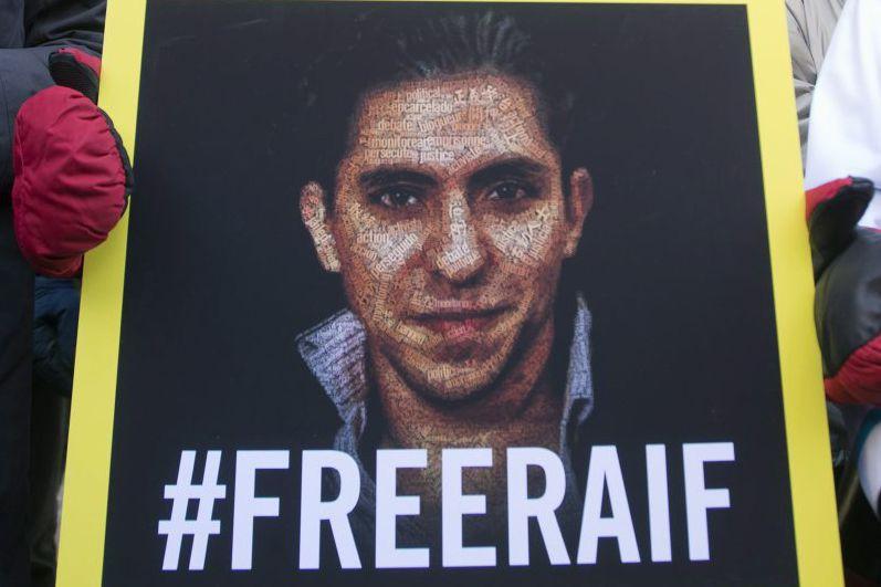 Raif Badawi a été condamné à 1000 coups... (PHOTO RYAN REMIORZ, ARCHIVES LA PRESSE CANADIENNE)