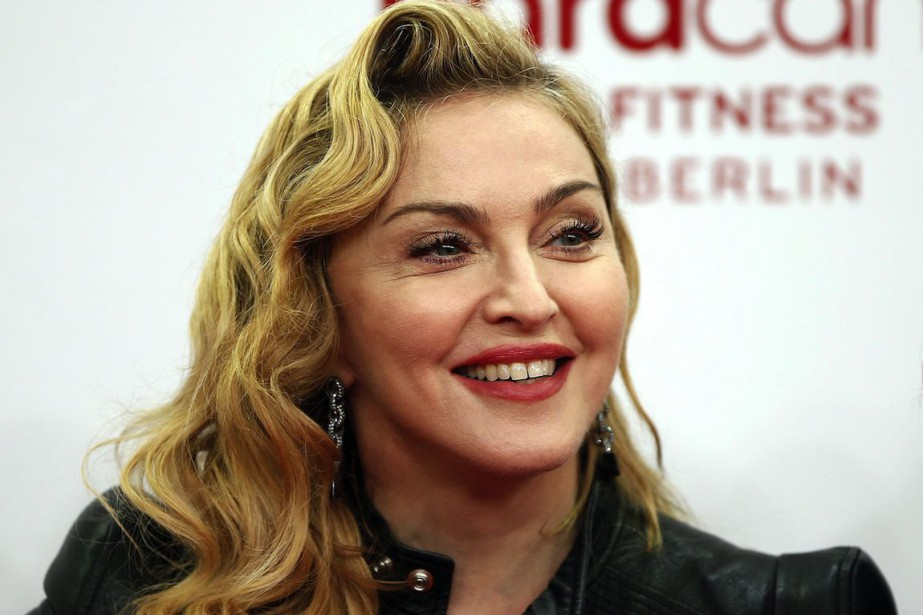 Madonna... (Photo: archives AP)