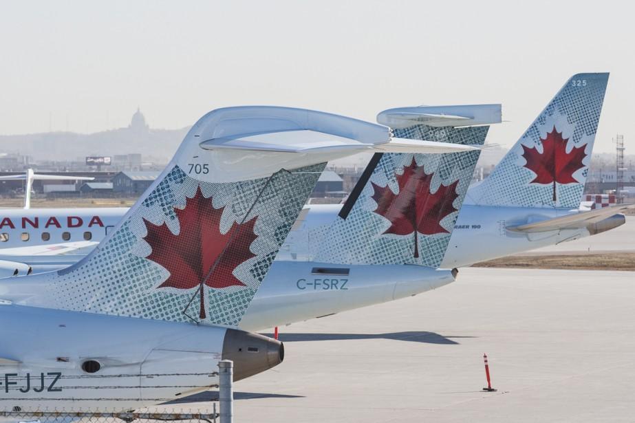 Les employés d'Air Canada ne sont pas... (PHOTO ARCHIVES LA PRESSE CANADIENNE)