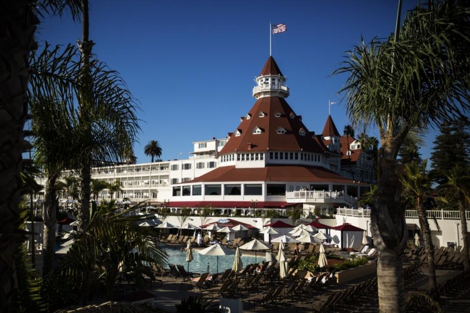 La terrasse du célèbre hôtel del Coronado est parfaite pour un apéro dans une ambiance luxueuse. (Photo Martin Leblanc, La Presse)