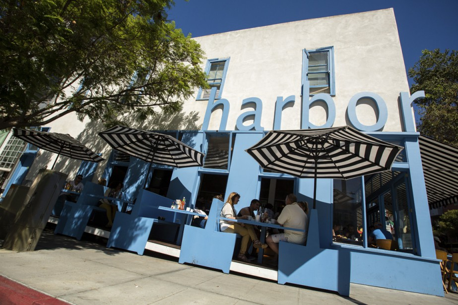 Harbor Breakfast reproduit l'ambiance d'un <em>diner</em> des années 50. (Photo Martin Leblanc, La Presse)
