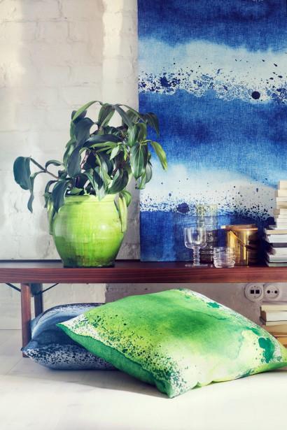 Les coups de pinceau d'artiste agrémenteront les tissus à partir du printemps chez Marimekko. (Photo fournie par Marimekko)