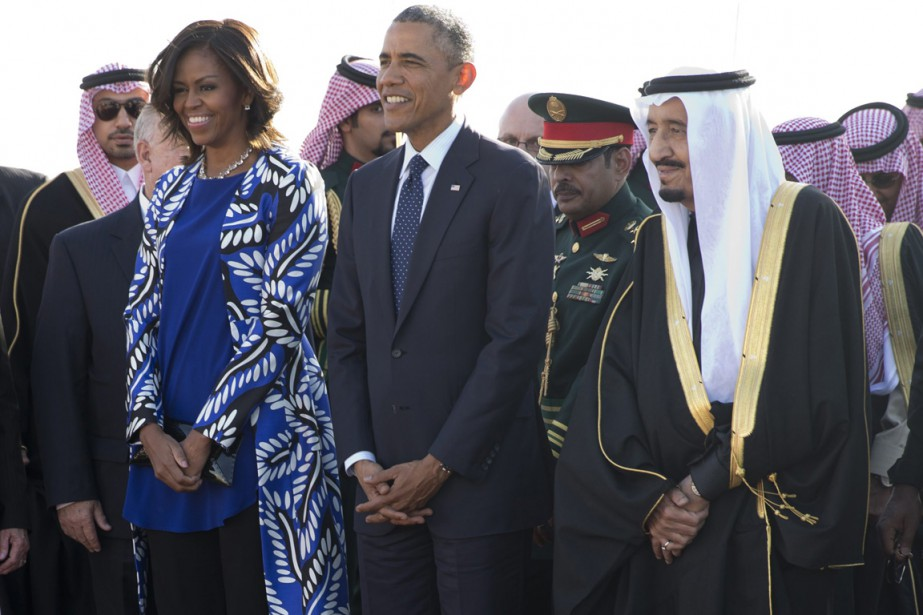 Le président Barack Obama et sa femme Michelle... (PHOTO CAROLYN KASTER, AP)