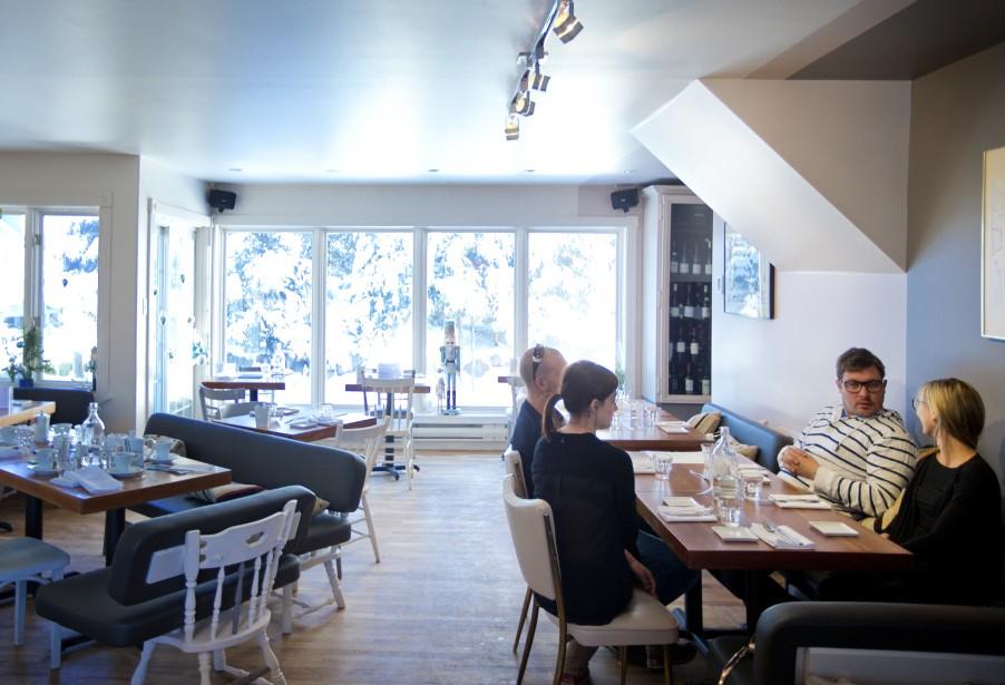 La Table des gourmets, un restaurant qui accumule les bonnes critiques depuis son ouverture, il y a six mois. (PHOTO MARCO CAMPANOZZI. LA PRESSE)