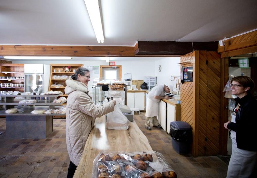La boulangerie Au Vieux Four à Sainte-Adèle est ouverte depuis... 1919! (PHOTO MARCO CAMPANOZZI. LA PRESSE)