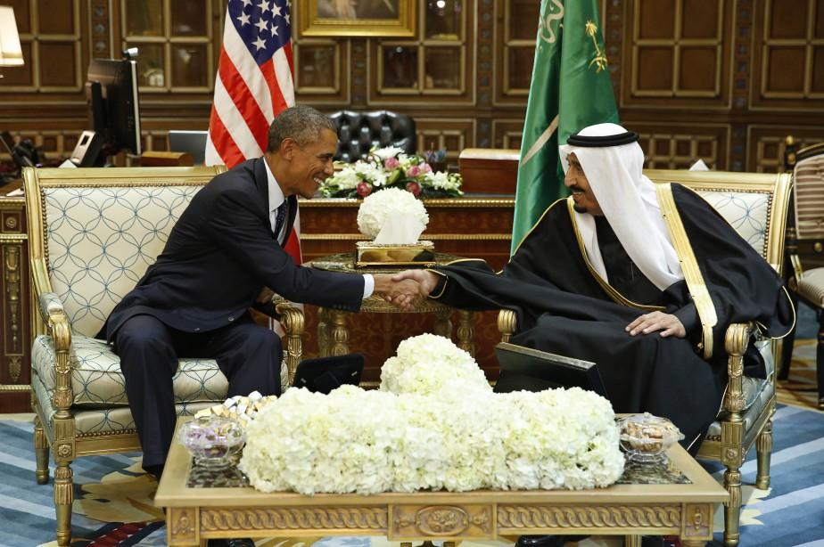 Le président américain Barack Obama s'est empressé cette... (Photo Reuters)