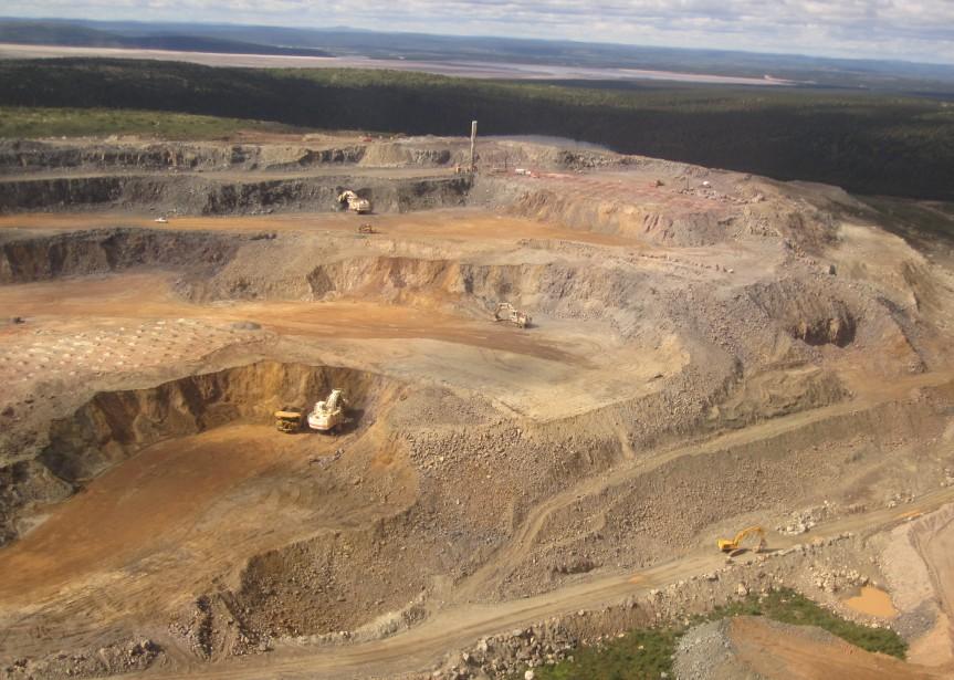 Cliffs avait acheté la mine de Fermont en... (Photo fournie par Cliffs Natural Resources)