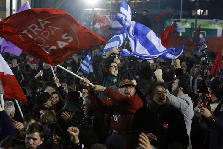 La formation de gauche radicale Syriza, vainqueur des... (Photo: Reuters)