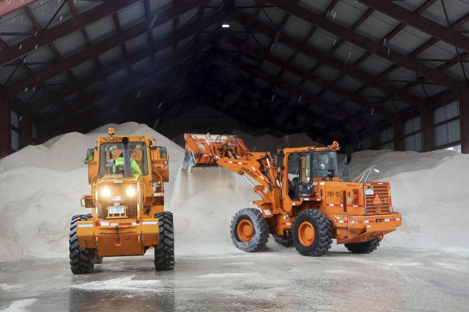 La hausse du prix du sel de déglaçage... (Photo Mary Altaffer, archives The Associated Press)