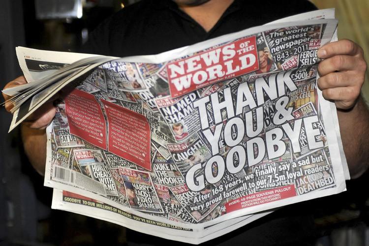 Le scandale des écoutes avait culminé à l'été... (Archives Reuters)