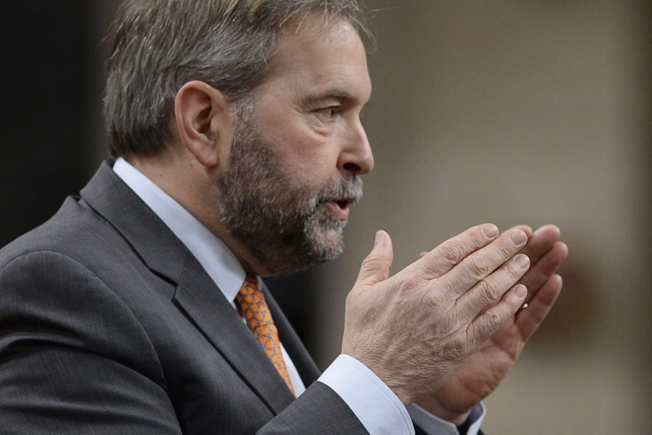 Le chef du NPD Thomas Mulcair.... (PHOTO SEAN KILPATRICK, LA PRESSE CANADIENNE)