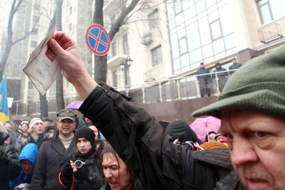 À partir du 1er mars, les Russes désirant... (PHOTO  ALEXEY KRAVTSOV, ARCHIVES AFP)