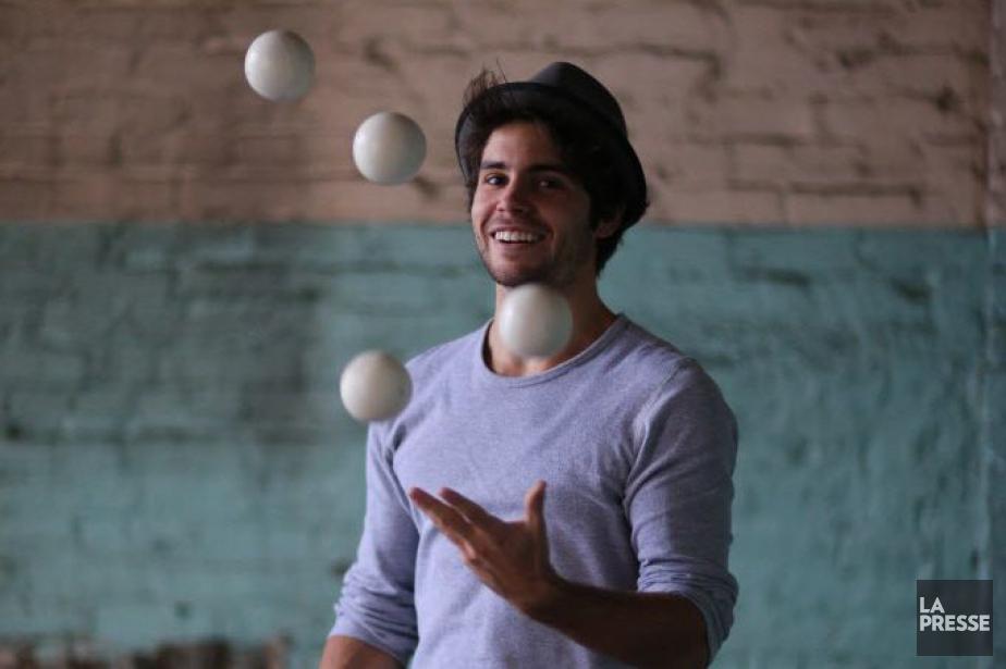 Le jongleur franco-espagnol Jimmy Gonzalez... (Photo Martin Chamberland, Archives La Presse)