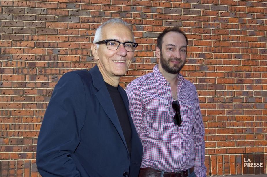 Roger Frappier et Ken Scott avaient annoncé de... (Photo Alain Roberge, Archives La Presse)