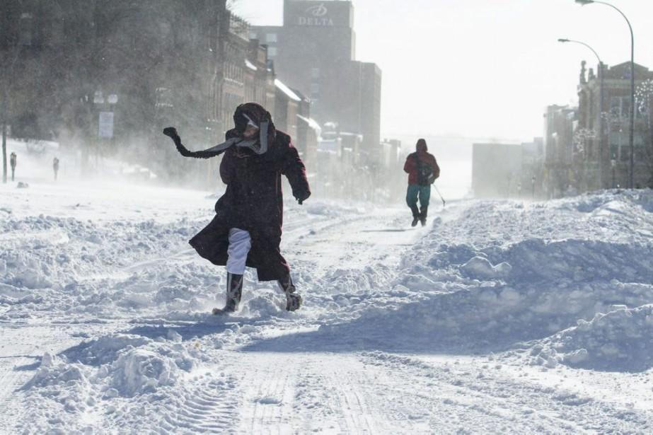 À Charlottetown (photo), cette dernière tempête a déversé... (PHOTO JOHN MORRIS, ARCHIVES LA PRESSE CANADIENNE)