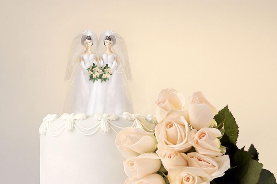 Les mariages entre conjoints de même sexe demeurent... (Photo Digital/Thinkstock)