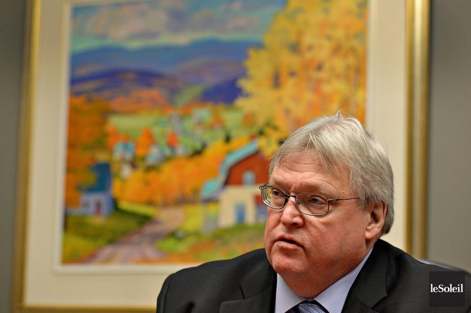 « Le ministre de la Santé, Gaétan Barrette,... (Photo Patrice Laroche, Le Soleil)