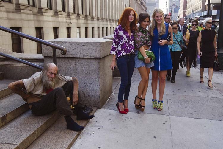New York est connue pour ses multimillionnaires et... (Photo: Reuters)