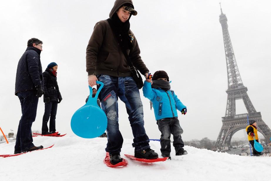 Paris pourrait servir d'exemple à Montréal, notamment pour... (PHOTO ARCHIVES AGENCE FRANCE-PRESSE)