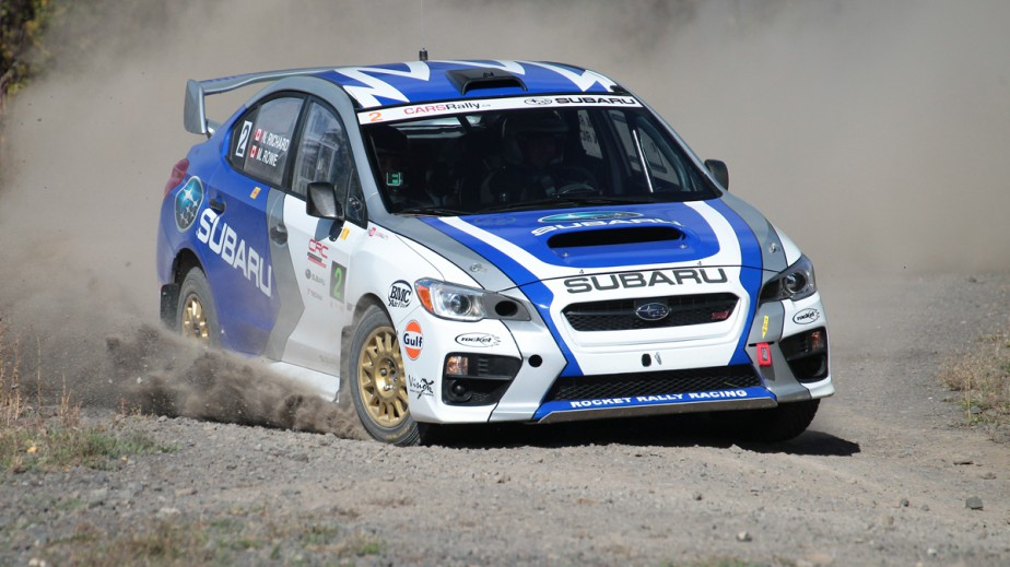 Rocket Racing est la première écurie du monde à avoir roulé en rallye avec une Subaru STi 2015. Le bolide est propulsé par un quatre-cyclindres turbo de 2 L et une transmission manuelle séquentielle à six vitesses. (Photo Phil Ericksen/Radikal Videos, fournie par Subaru Canada)
