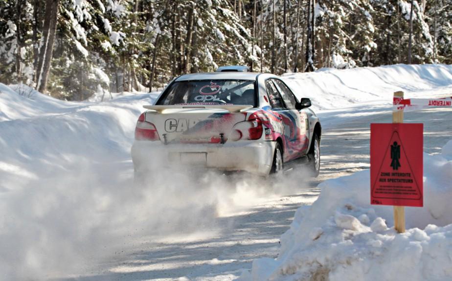Le Championnat des rallyes canadiens (CRC) compte sur les réseaux sociaux pour augmenter sa notoriété. (Photo fournie par Philip Ericksen/Rallye Perce-Neige)