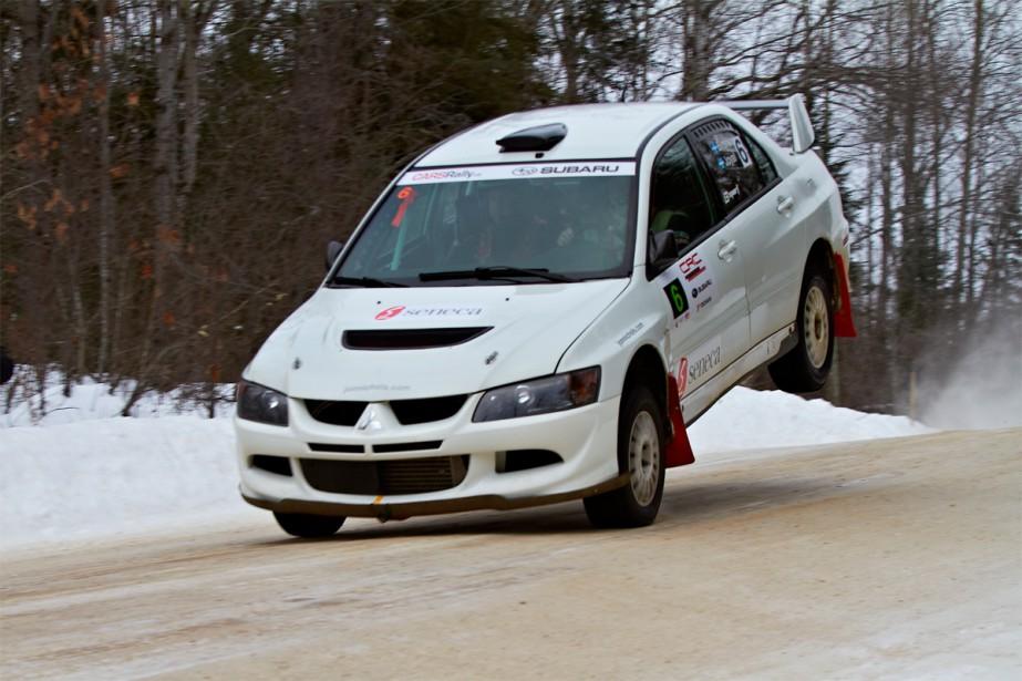 Le vétéran Jean-Sébastien Besner a terminé ex-aequo avec Maxime Labrie au septième rang du Championnat des rallyes canadiens en 2014. (Photo Mat Janiak/CARSrally.ca)