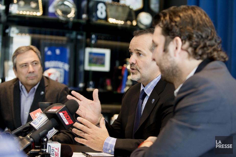 Le propriétaire et président de l'équipe, Joey Saputo... (PHOTO ALAIN ROBERGE, LA PRESSE)